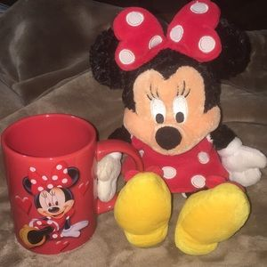 Exclusive Disney Theme Parks Minnie Mouse Set